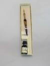 Penne in vetro di Murano con punta in metallo 2
