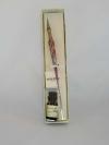 Penne in vetro di Murano con punta in metallo 3