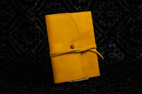 Cover in Pelle Ricaricabile Giallo