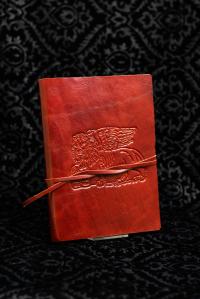 Diario in Pelle Rosso