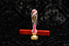 Set sigillo in vetro di Murano Rosa